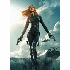 Captain America Winter Soldier Movie Poster 24Inx36In Poster