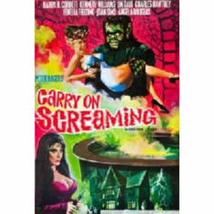 Carry On Screaming Movie Poster 11x17 Mini Poster