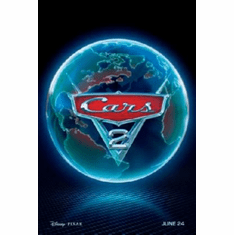 Cars 2 Movie Poster 24inx36in