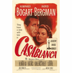Casablanca Movie Poster 24inx36in Poster