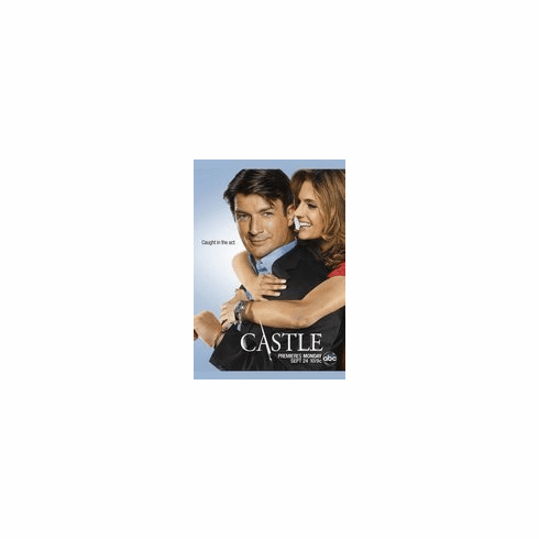 Castle and Beckett Caught in the Act 8x10 photo
