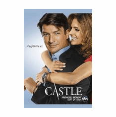 Castle and Beckett Caught in the Act Mini Poster 11inx17in