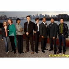 Castle Cast New York Skyline Poster 11x17 Mini Poster