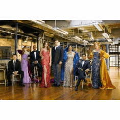 Castle Mini Poster 11x17 Glamourous Cast