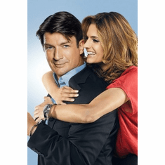 castle nathan fillion Mini Poster 11inx17in poster