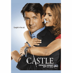 Castle Poster 24X36 in Castle and Beckett Caught in the Act