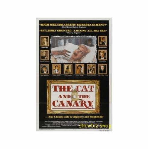 Cat And The Canary Movie 8x10 photo Master Print