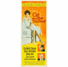 Cat On A Hot Tin Roof Movie Poster Insert 14x36