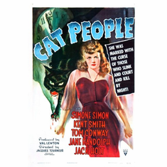 Cat People Movie Poster 24x36