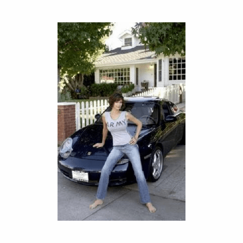 Catherine Bell Mini #01 Porsche 8x10 photo Master Print
