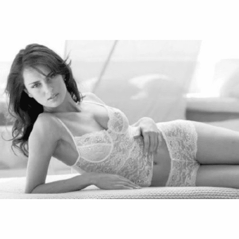 """Catrinel Menghia Black and White Poster 24""""x36"""""""