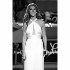 """Celine Dion Black and White Poster 24""""x36"""""""
