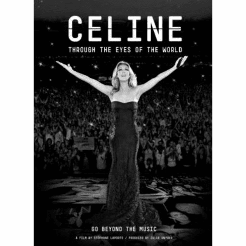"Celine Dion Black and White Poster 24""x36"""