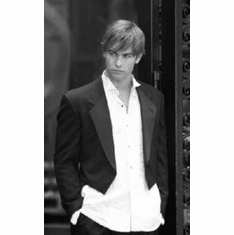 """Chace Crawford Black and White Poster 24""""x36"""""""