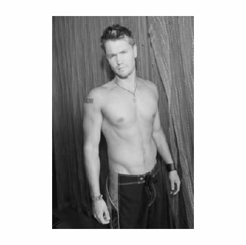 "Chad Michael Murray Black and White Poster 24""x36"""