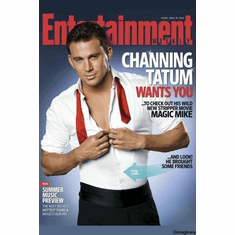 Channing Tatum Magic Mike Mini Movie Poster 11inx17in