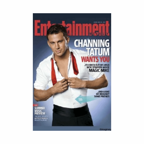 Channing Tatum Magic Mike Poster 24x36 Entertainment Weekly Cover