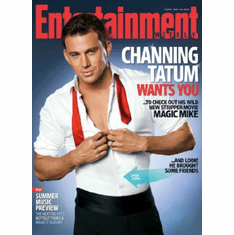 Channing Tatum Poster 24inx36in entertainment weekly sexy open shirt