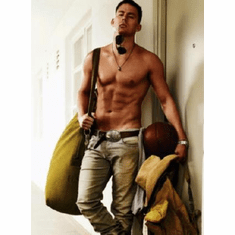 Channing Tatum Poster Shirtless Muscles Magic Mike