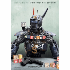 Chappie Movie poster 24inx36in Poster