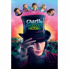Charlie And The Chocolate Factory Movie Poster Johnny Depp 24inx36in