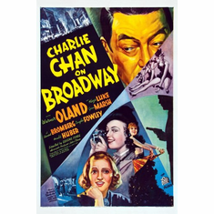 Charlie Chan On Broadway Movie Poster 24inx36in
