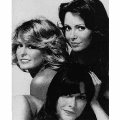 "Charlies Angels Black and White Poster 24""x36"""