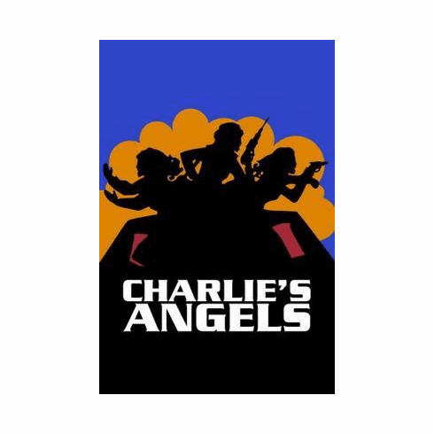 Charlies Angels Poster 70'S Art 24in x36 in