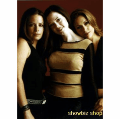 Charmed Cast Poster Milano Combs Mcgowan 24inx36in