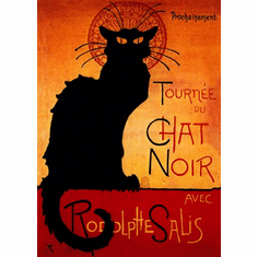 Chat Noir Poster 24inx36in