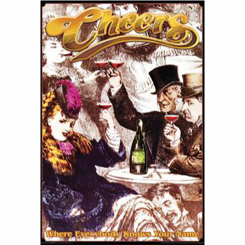 Cheers Poster 24inx36in