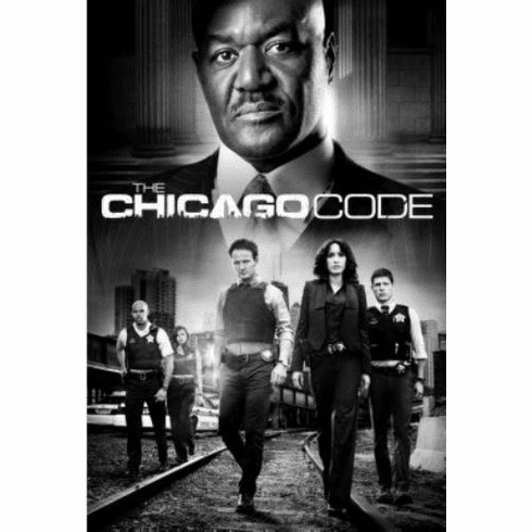 """Chicago Code Black and White Poster 24""""x36"""""""