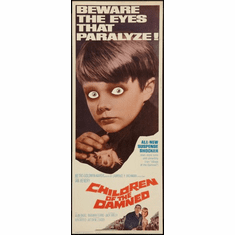 Children Of The Damned 14x36 Insert Movie Poster