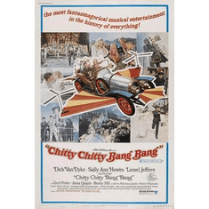 Chitty Chitty Bang Bang Movie Poster 24in x36 in