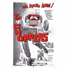Choppers The Poster 24inx36in