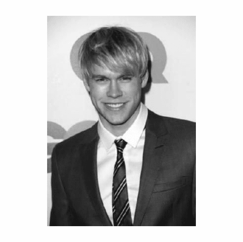 "Chord Overstreet Black and White Poster 24""x36"""