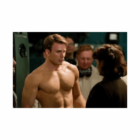 Chris Evans Poster Shirtless 24inx36in