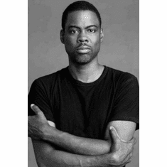 "Chris Rock Black and White Poster 24""x36"""