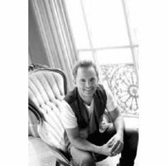 "Chris Tomlin Black and White Poster 24""x36"""