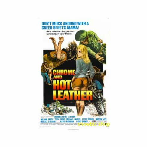 Chrome And Hot Leather Movie Poster 11x17 Mini Poster
