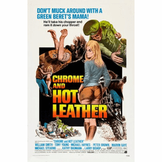 Chrome And Hot Leather Movie Poster 24inx36in