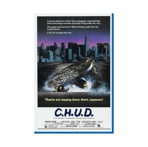 Chud C.H.U.D. Movie Poster 24inx36in