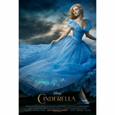Cinderella Movie Poster 24x36 Large