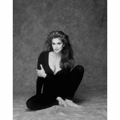 """Cindy Crawford Black and White Poster 24""""x36"""""""