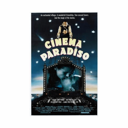 Cinema Paradiso Movie Poster 24in x36 in