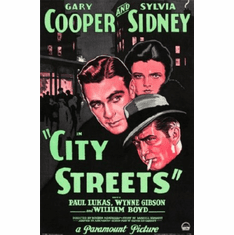 City Streets Movie Poster 24inx36in