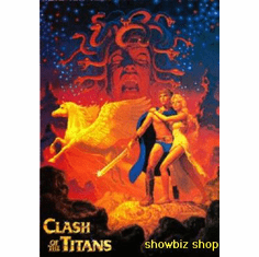 Clash Of The Titans Art Movie Poster 11x17 Mini Poster