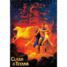 Clash Of The Titans Movie Poster Art 24in x36 in