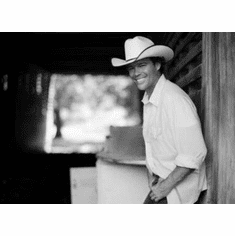"""Clay Walker Black and White Poster 24""""x36"""""""