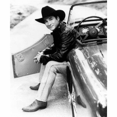 """Clint Black Black and White Poster 24""""x36"""""""